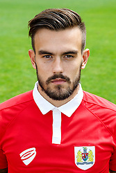 Marlon Pack poses for a head shot - Photo mandatory by-line: Rogan Thomson/JMP - 07966 386802 - 04/08/2014 - SPORT - FOOTBALL - BCFC Training Ground, Failand - Bristol City, 2014/15 Team Photos.