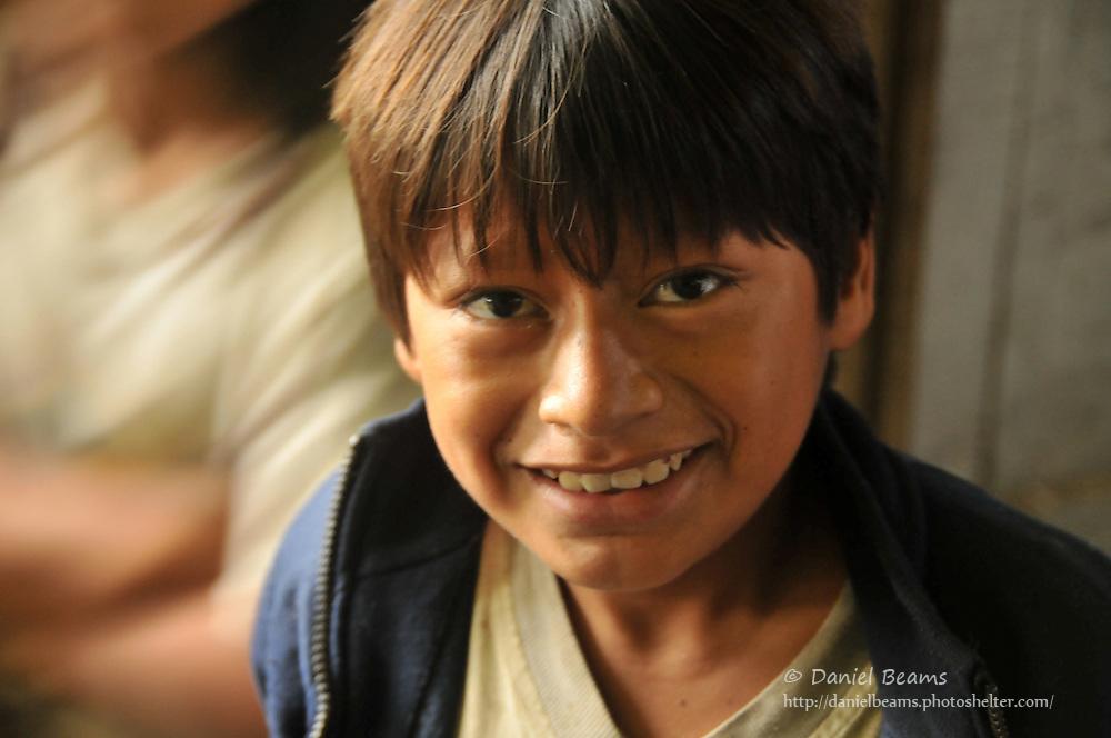 Yuqui boy in Bia Recuate, near Chimore, Cochabamba, Bolivia