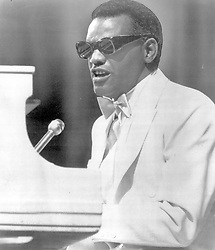 May 24, 1974; Hollywood, CA, USA; RAY CHARLES is shown in this May 24, 1974 file photo. Charles, the Grammy-winning crooner who blended gospel and blues in such crowd-pleasers as 'What'd I Say' and ballads like 'Georgia on My Mind,' died Thursday, June 10, 2004. He was 73.  (Credit Image: © Courtesy by Crossover Records/ZUMAPRESS.com)