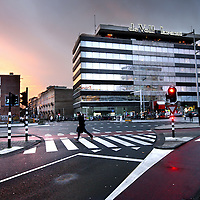 Nederland, Amsterdam , 14 december 2011..Het voormalige pand van de Volkskrant op de Wibautstraat wordt niet gesloopt..Foto:Jean-Pierre Jans