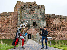 Tantallon Castle reopening, North Berwick,  31 August 2020