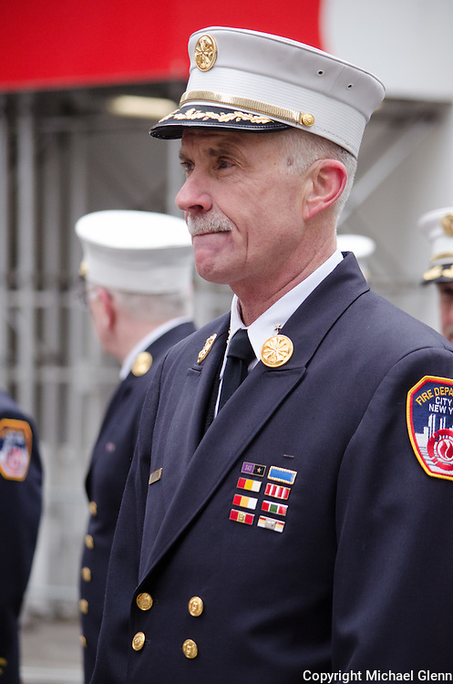 FDNY Chief of Department Edward Kilduff at the Saint Patrick's day parade