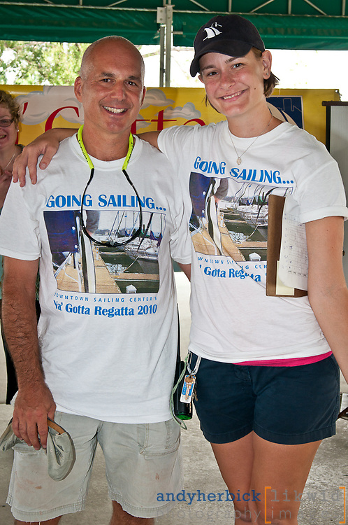 AUGUST 21, 2010 - Baltimore, MD, USA - The 9th Annual Ya' Gotta' Regatta, hosted by the Downtown Sailing Center in Baltimore, showcases the sailing programs for people with disabilities. - IMAGE © Andy Herbick 2010   www.andyherbickphotography.com - ALL RIGHTS RESERVED.