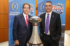 College Football Playoff Coaches News Conference