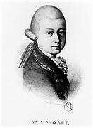 Wolfgang Amadeus Mozart (1756-1791) in 1770.