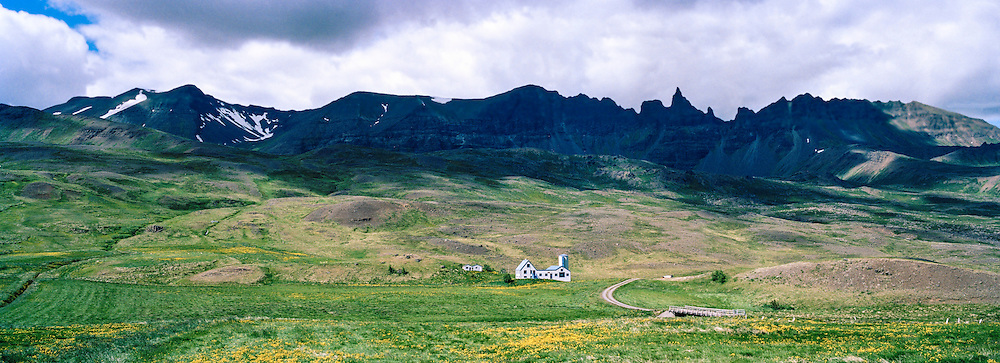 Framstead in western Iceland