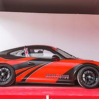 2016, Porsche 911 (991.1) GT3 Cup Car at the Salon Privé, 31 August - 1 September 2018