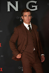 Chris Pine at the Scottish premiere of Outlaw King at the Vue Omni in Edinburgh.