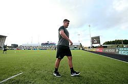 Nick Schonert of Worcester Warriors arrives at Kingston Park ahead of the Aviva Premiership Season opener against Newcastle Falcons - Mandatory by-line: Robbie Stephenson/JMP - 01/09/2017 - RUGBY - Kingston Park - Newcastle upon Tyne, England - Newcastle Falcons v Worcester Warriors - Aviva Premiership