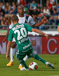 31.05.2015, Stadion Wolfsberg, Wolfsberg, AUT, 1. FBL, RZ Pellets WAC vs SK Rapid Wien, 35. Runde, im Bild v.l. Maximilian Hofmann (SK Rapid Wien) und Silvio Carlos De Oliveira (RZ Pellets WAC) // during the Austrian Football Bundesliga 35th Round match between RZ Pellets WAC and SK Rapid Vienna at the Stadium Wolfsberg in Wolfsberg Austria on 2015/05/31, EXPA Pictures © 2015, PhotoCredit: EXPA/ Wolfgang Jannach