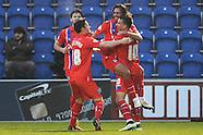 Colchester United v Gillingham 261214