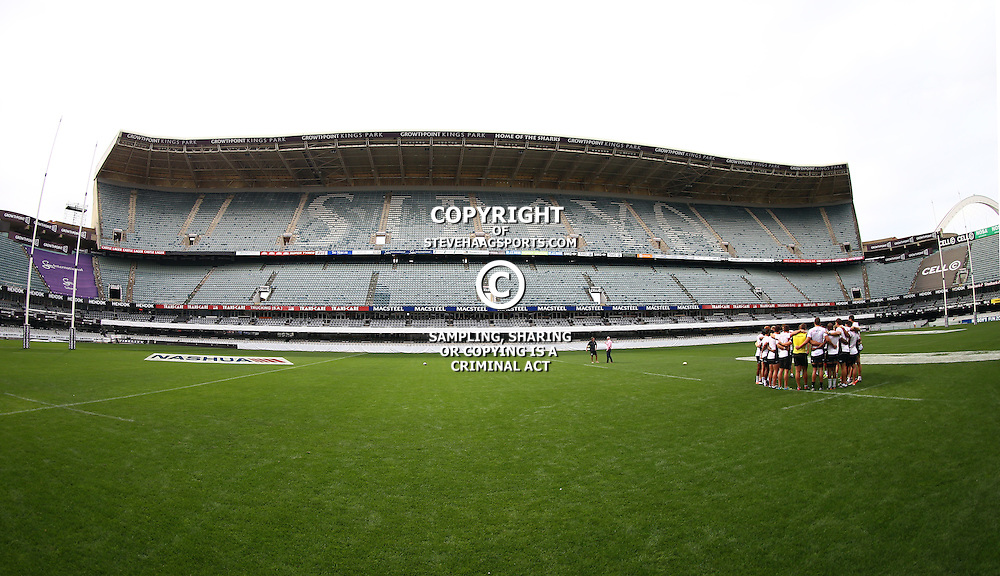 DURBAN, SOUTH AFRICA - SEPTEMBER 09:General views during the Cell C Sharks XV captains run at Growthpoint Kings Park on September 09, 2016 in Durban, South Africa. (Photo by Steve Haag/Gallo Images)