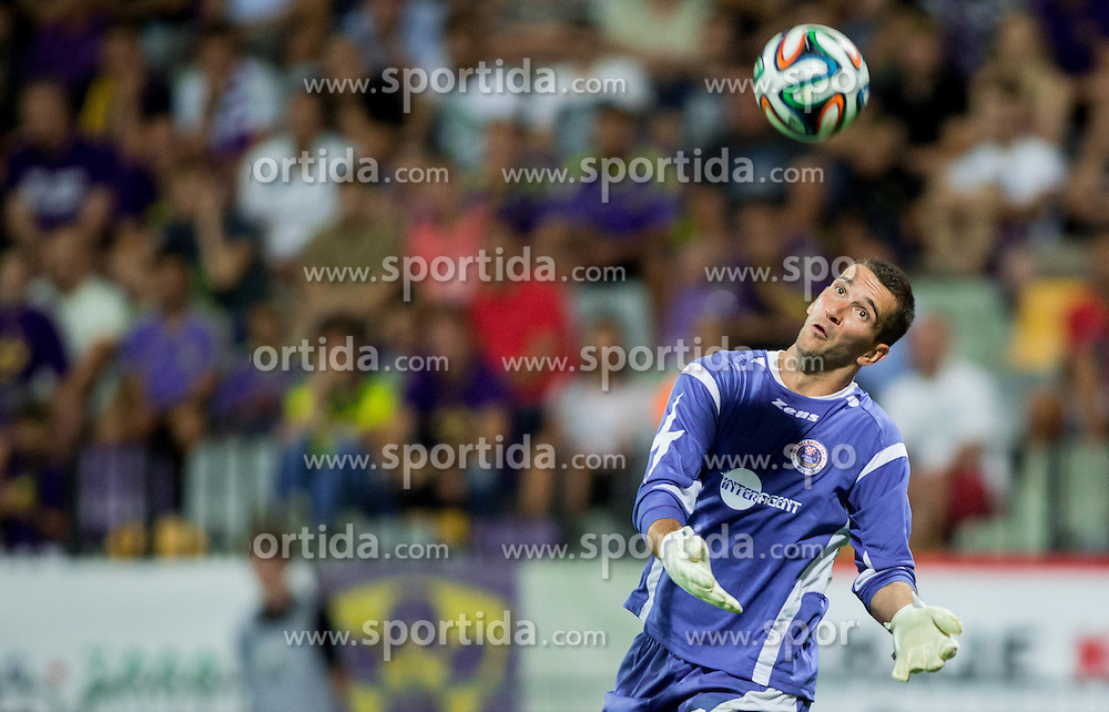 Ratko Dujkovic of Zrinjski during 2nd Leg football match between NK Maribor and HSK Zrinjski Mostar in Second Qualifying Round of UEFA Champions League 2014/15, on July 23, 2014 in Stadium Ljudski vrt, Maribor, Slovenia. Photo by Vid Ponikvar / Sportida.com