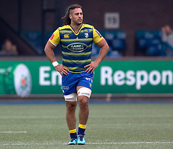 Cardiff Blues' Josh Navidi<br /> <br /> Photographer Simon King/Replay Images<br /> <br /> European Rugby Challenge Cup - Semi Final - Cardiff Blues v Pau - Saturday 21st April 2018 - Cardiff Arms Park - Cardiff<br /> <br /> World Copyright © Replay Images . All rights reserved. info@replayimages.co.uk - http://replayimages.co.uk