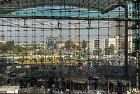 Berlin Hauptbahnof, Germany capital city's major station.