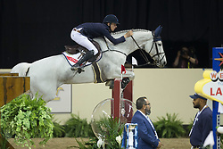 Allen Bertram, (IRL), Molly Malone V <br />  Longines FEI World Cup™ Jumping Final Las Vegas 2015<br />  © Hippo Foto - Dirk Caremans<br /> Final III round 2 - 19/04/15