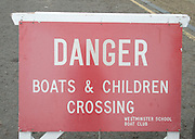 London, Great Britain.  GV, General View, Signage,  [Mandatory Credit; Karon Phillips/Intersport Images]..