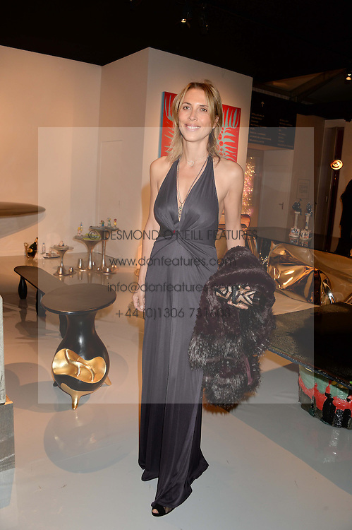 TATJANA d'ABO at the PAD Art and Design Fair 2013 Collectors Preview in Berkeley Square, London on 14th October 2013.