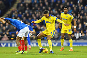 Terell Thomas (6) of AFC Wimbledon battles for possession during the EFL Sky Bet League 1 match between Portsmouth and AFC Wimbledon at Fratton Park, Portsmouth, England on 1 January 2019.