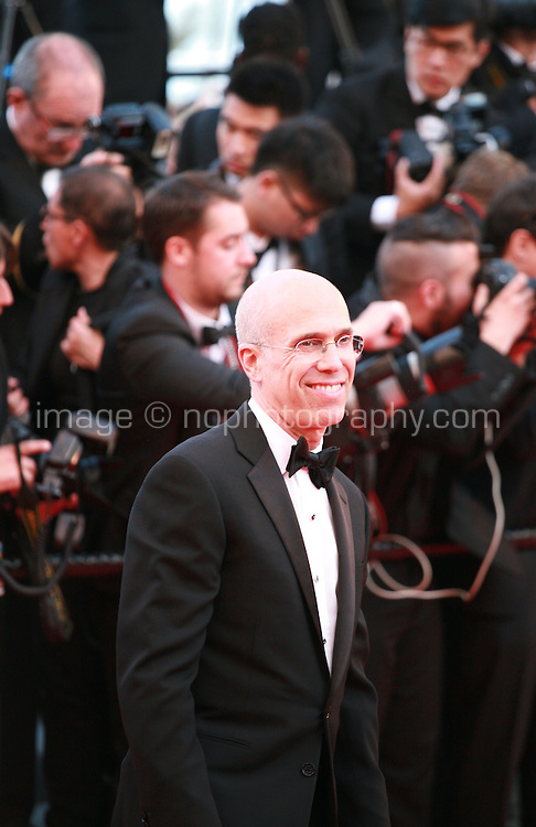 Jeffrey Katzenberg at the the How to Train Your Dragon 2 gala screening red carpet at the 67th Cannes Film Festival France. Friday 16th May 2014 in Cannes Film Festival, France.
