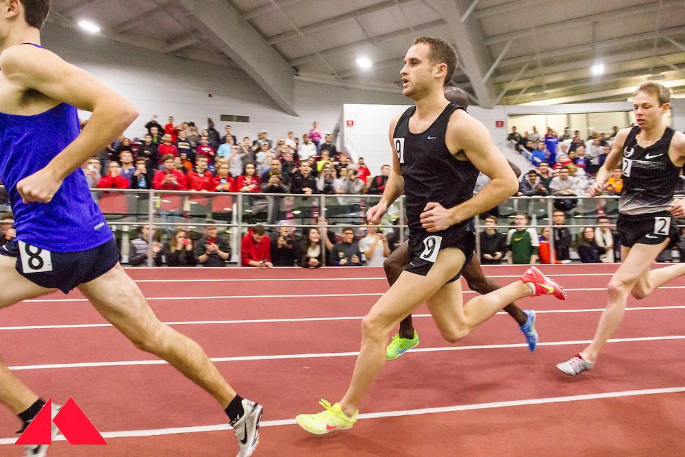 BU Terrier Indoor, Galen Rupp AR 2-mile, rabbits Taylor Gilland  and Pat Casey lead