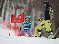 Meister Slalom with Gunstock Ski Club.  ©2020 Karen Bobotas Photographer