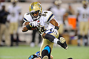 Hartford Colonials wide receiver Syndric Steptoe (84) during the Colonials game against the Florida Tuskers at the Florida Citrus Bowl on November 11, 2010 in Orlando, Florida. The Tuskers won the game 41-7..©2010 Scott A. Miller