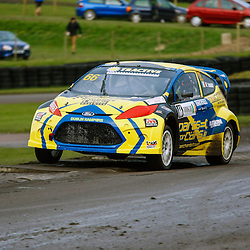 British Rallycross Championship Round 1 Lydden Hill 16th March 2013 A convincing win for 2011 ERC touring car champion Derek Tohill in his in his Ford Fiesta (c) MATT BRISTOW | StockPix.eu