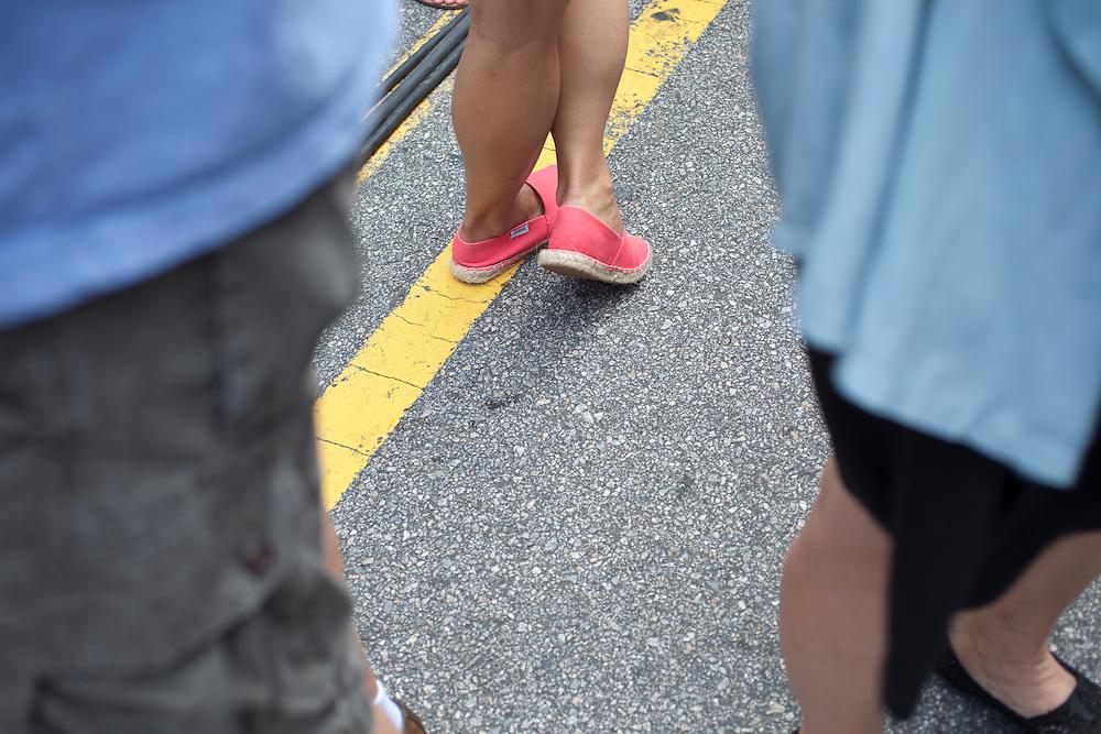 Color coordination, Hopscotch Music Festival, Raleigh, N.C., September 8, 2012