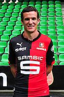 Romain DANZE - 15.09.2014 - Photo officielle Rennes - Ligue 1 2014/2015<br /> Photo : Philippe Le Brech / Icon Sport