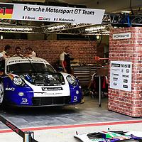 #91, Porsche Motorsport, Porsche 911 RSR, LMGTE Pro, driven by: Richard Lietz, Gianmaria Bruni, Frederic Makowiecki, 24 Heures Du Mans  2018  Test, 02/06/2018,