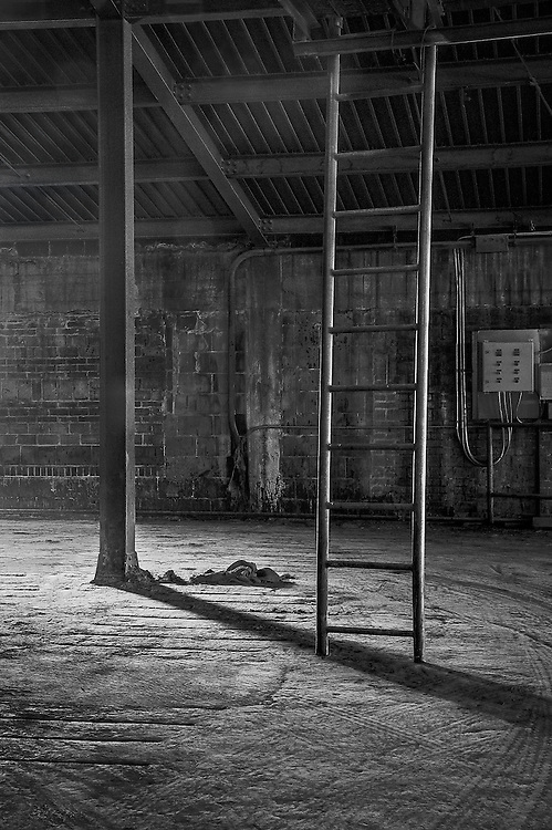 Empty Warrehouse, Clay Factory, Lincoln, CA