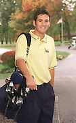 British Open champion Ben Curtis when he attended Kent State and played golf under coach Herb Page.<br /> Photo by Jeff Glidden