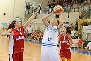 DESCRIZIONE : Ortona Giochi del Mediterraneo 2009 Mediterranean Games Italia Italy Albania Preliminary Women<br /> GIOCATORE : Raffaella Masciadri<br /> SQUADRA : Nazionale Italiana Femminile<br /> EVENTO : Ortona Giochi del Mediterraneo 2009<br /> GARA : Italia Italy Albania<br /> DATA : 28/06/2009<br /> CATEGORIA : tiro<br /> SPORT : Pallacanestro<br /> AUTORE : Agenzia Ciamillo-Castoria/G.Ciamillo