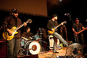 Backyard Tire Fire performs live at the Old Rock House in St. Louis on April 2, 2010
