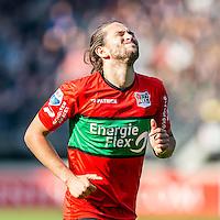 NIJMEGEN - NEC - Vitesse , Voetbal , Eredivisie , Seizoen 2016/2017 , Stadion de Goffert , 23-10-2016 , NEC Nijmegen speler Julian von Haacke baalt