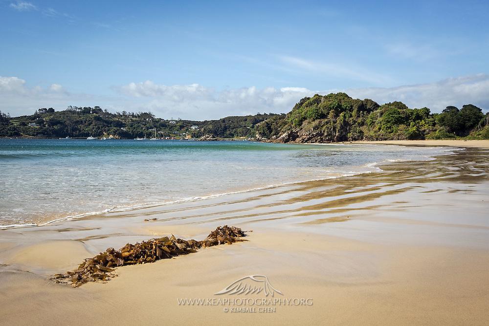 Butterfield Beach, Stewart Island, New Zealand