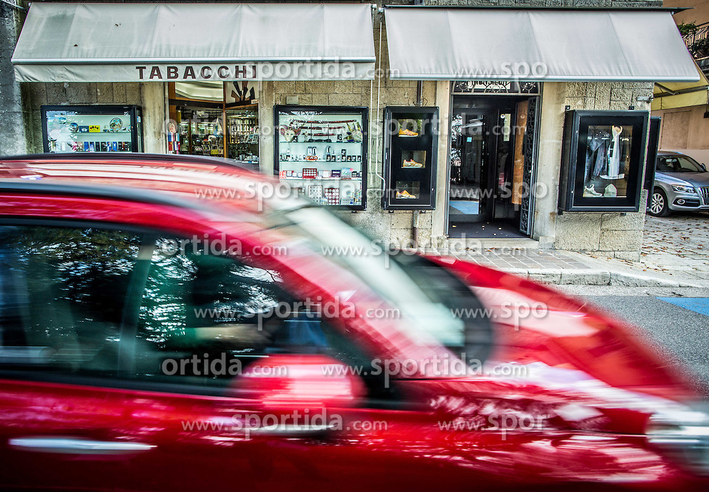 Croque Monsieur shop in City of San Marino, on October 12, 2015 in Republic of San Marino. Photo by Vid Ponikvar / Sportida