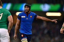 Thierry Dusautoir of France - Mandatory byline: Patrick Khachfe/JMP - 07966 386802 - 11/10/2015 - RUGBY UNION - Millennium Stadium - Cardiff, Wales - France v Ireland - Rugby World Cup 2015 Pool D.
