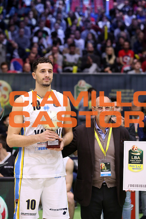 Gabriel Garpardo<br /> Gara Schiacciate<br /> Poste Mobile Final Eight F8 2017 <br /> Lega Basket 2016/2017<br /> Rimini, 19/02/2017<br /> Foto Ciamillo-Castoria/A. Gilardi