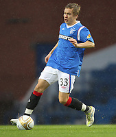 Football - Scottish Premier League - Rangers vs. Dunfermline<br /> <br /> Thomas Bendiksen of Rangers in action during the Rangers vs. Dunfermline Scottish Premier League match at Ibrox Stadium Glasgow on December 3rd 2011<br /> <br /> <br /> Ian MacNicol/Colorsport
