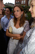 Emily Oppenheim. Michelle Watches Kaleidoscope Summer party. Home House. 15 June 2005 ONE TIME USE ONLY - DO NOT ARCHIVE  © Copyright Photograph by Dafydd Jones 66 Stockwell Park Rd. London SW9 0DA Tel 020 7733 0108 www.dafjones.com