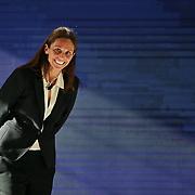 La tennista Roberta Vinci al primo Italian Digital Day, incontri e dibattiti dedicati all'innovazione digitale in Italia organizzato alla Reggia di Venaria Reale (TO) 21/11/2015