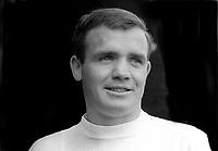 Arthur Stewart, footballer, Glentoran FC, Belfast, N Irland, June 1967, 196706000045<br /> <br /> Copyright Image from Victor Patterson, 54 Dorchester Park, Belfast, UK, BT9 6RJ<br /> <br /> t: +44 28 9066 1296<br /> m: +44 7802 353836<br /> vm +44 20 8816 7153<br /> <br /> e1: victorpatterson@me.com<br /> e2: victorpatterson@gmail.com<br /> <br /> www.victorpatterson.com<br /> <br /> IMPORTANT: Please see my Terms and Conditions of Use at www.victorpatterson.com