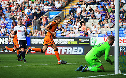 Conor Coady of Wolverhampton Wanderers celebrates after scoring his sides fourth goal - Mandatory by-line: Matt McNulty/JMP - 21/04/2018 - FOOTBALL - Macron Stadium - Bolton, England - Bolton Wanderers v Wolverhampton Wanderers - Sky Bet Championship