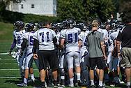 John Jay Varsity Football game at Saunders on September 28, 2013.(photo by Gabe Palacio)