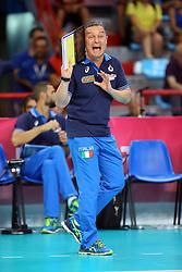 MARCO BONITTA<br /> ITALIA - OLANDA<br /> VOLLEYBALL WORLD GRAND PRIX 2016<br /> BARI 18-06-2016<br /> FOTO GALBIATI - RUBIN
