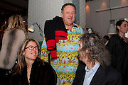 SARAH BRAKA; IVOR BRAKA; JEAN PIGOZZI, Dom PŽrignon with Alex Dellal, Stavros Niarchos, and Vito Schnabel celebrate Dom PŽrignon Luminous. W Hotel Miami Beach. Opening of Miami Art Basel 2011, Miami Beach. 1 December 2011. .<br /> SARAH BRAKA; IVOR BRAKA; JEAN PIGOZZI, Dom Pérignon with Alex Dellal, Stavros Niarchos, and Vito Schnabel celebrate Dom Pérignon Luminous. W Hotel Miami Beach. Opening of Miami Art Basel 2011, Miami Beach. 1 December 2011. .