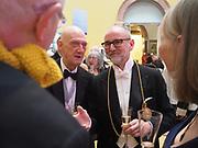 HUMPHREY OCEAN; ALLEN JONES; CHRISTOPHER LE BRUN, Royal Academy of Arts Annual Dinner. Burlington House, Piccadilly. London. 6 June 2017