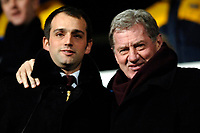 Photo: Daniel Hambury.<br />Portsmouth v Liverpool. The FA Cup. 29/01/2006.<br />Portsmouth co-owners Alexandre Gaydamak (L) and Milan Manderic.